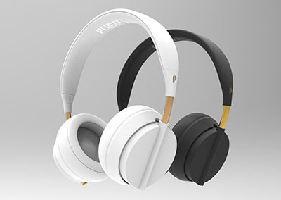 Plugged Crown Headphones